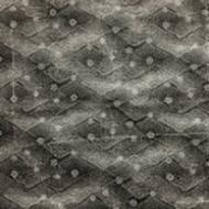 Black Spirals Print